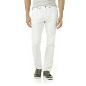 STRUCTURE Slim Straight White Jeans NWT Size 30X30